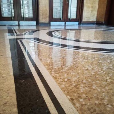 Slefuirea mozaicului - Podele Lux - Pleven